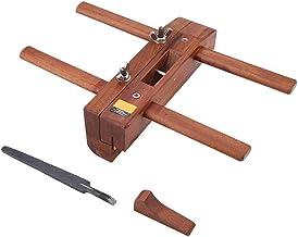 N / A Manual de Doble asa de la carpintería cepilladora Cepillado con Mango Artesanal Recorte de Herramientas con cortante de la Cuchilla práctica Plano Retro