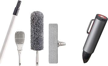 JEHONN Car Handheld Vacuum and Microfiber Duster Kit