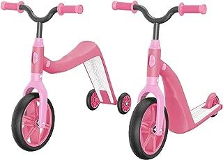Macwheel MK2 Toddler Scooter, Convertible 4-in-1 Ride-On Balance Trike & Training Bike, Kick Scooter for Kids Ages 2-5 (Renewed)