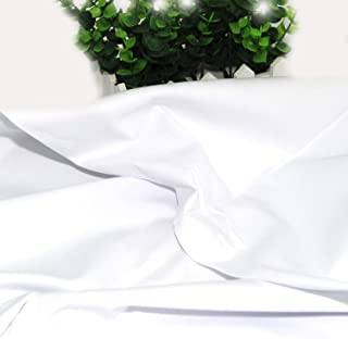 Pre-Cut Quilting Cotton Fabric White Color,Good Quality Craft Cloth,DIY for Sewing Crafting 61