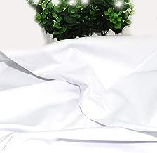 Best plain white cotton fabric Reviews