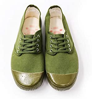 Liberation shoes low-cut military shoes training wear-resistant labor insurance camouflage men's rubber shoes yellow ball shoes can be used as on-site labor insurance jungle and various geological env