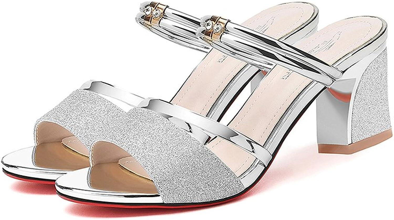 XUERUI Sandals Female Summer Wear Comfort Sexy High Heels (Size   EU36 UK3.5 CN35)