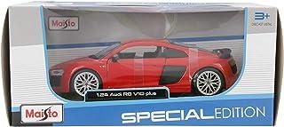 مايستو مجسم سيارة اودي ار 8 بلس ,احمر