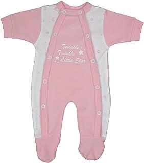 Babyprem Frühchen Frühgeborene Baby Kleidung Schlafanzüge Strampler Kleiner Sterne 32-50cm
