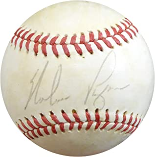Nolan Ryan Signed Auto Official AL Baseball Mets, Angels Vintage Playing Days Signature - Beckett Certified