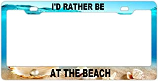 beach monogram frame
