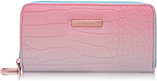 Caprese Spring/Summer 20 Women's Wallet (Turquoise & Peach)