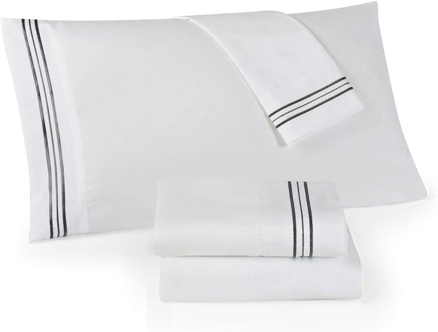 Set of 2 Embroidered Pillow Covers 100% Cotton Count Thread 500 Manufacturer direct delivery Over item handling