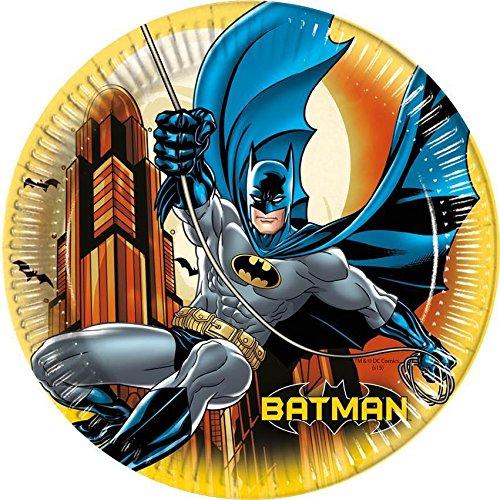 23 cm Batman Platos Fiesta, pack de 8: Amazon.es: Juguetes y juegos