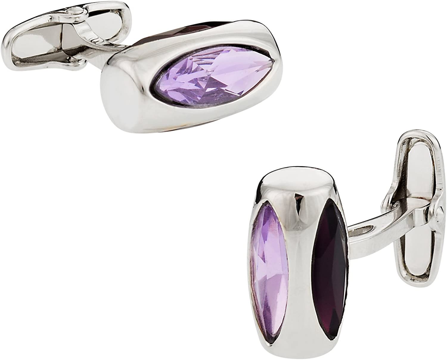 Soho Cuff-Daddy Manufacturer regenerated product Purple Crystal Glass Sales for sale Vault with Cufflinks Presen