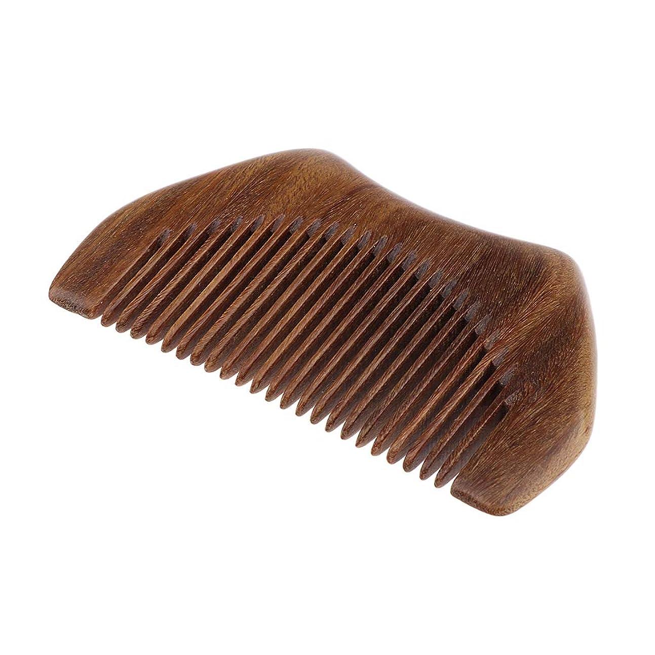 定常エール消費者SM SunniMix ヘアコーム 木製櫛 静電気防止櫛 ヘアサロン くし