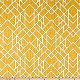 PREMIER PRINTS 0727667 Alpine Slub Canvas Brazilian Yellow
