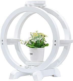 YYFANG Etagère à Fleurs Support en Bois Vintage De Bureau Étagère Support De Pot De Fleur pour Planteur De Bureau pour Pla...
