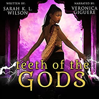 Teeth of the Gods audiobook cover art