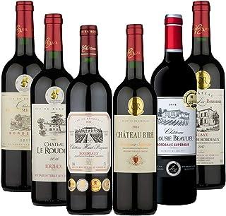 注目の複数メダル受賞 ワインも! すべて金賞受賞ボルドー赤ワイン6本セット(赤750mlx6) [フランス/Amazon.co.jp限定/winery direct]