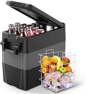 F40C4TMP Portable Refrigerator Freezer for Truck 53 Quart (50L) Car Freezer Fridge(-4℉~50℉), Car Compressor Refrigerator f...