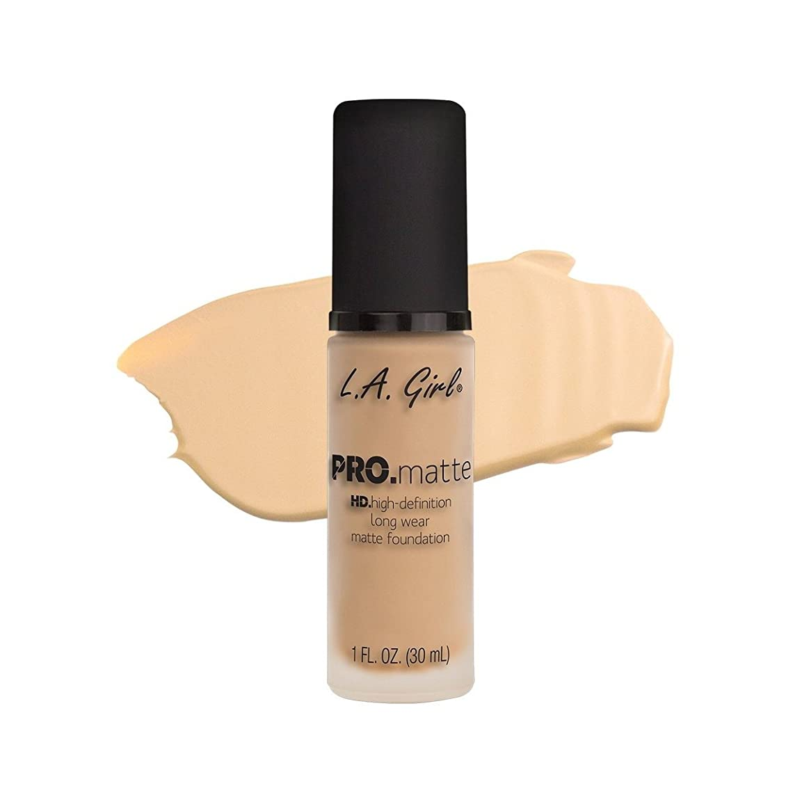 お風呂裏切る遠足(6 Pack) L.A. GIRL Pro Matte Foundation - Ivory (並行輸入品)