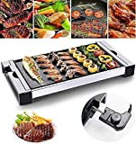 LUCKING Barbecue Portatile Elettrico Teppanyaki da Interno per Picnic in casa