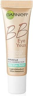 Garnier Skin BB Eye Miracle Skin Perfector Eye Roller, Light/Medium, 0.27 Fluid Ounce