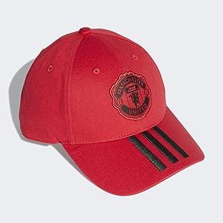 Soccer Cap Hat Manchester United 3 Stripes Football New
