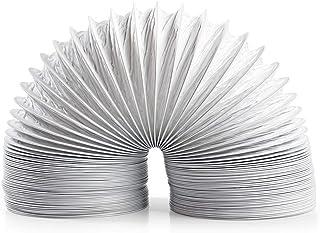 TronicXL Trocknerzubehör PVC Abluftschlauch 100 mm 1,5m für Trockner Klimaanlage etc