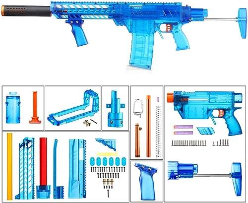 WORKER MXC courte Dart Power Type Combo 7 Items (bleu Transparent) for Prophecy-R and Retaliator