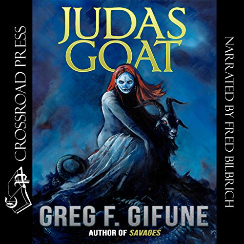 Judas Goat audiobook cover art