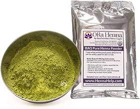 Rajasthani Henna Hair Color Natural Organic Indian Pure No Chemicals BAQ 100 Grams