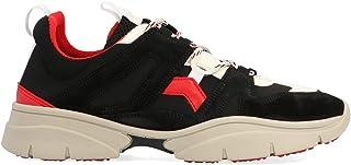 Luxury Fashion | Isabel Marant Women BK005219A017S01BK Black Polyurethane Sneakers | Season Permanent