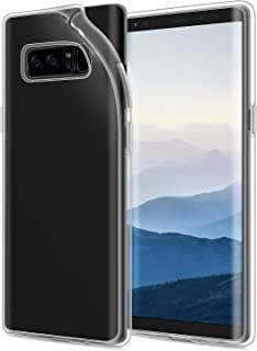 JETech Case for Galaxy Note 8, Shock-Absorption Soft Clear Protective Bumper Cover