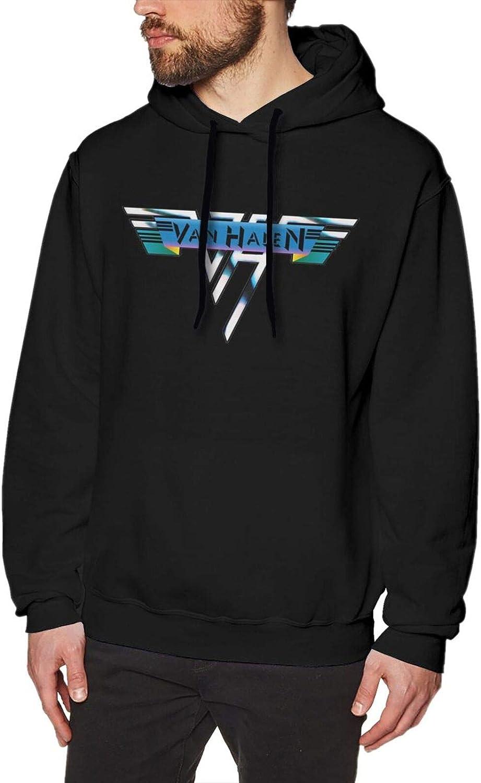 Van-Halen Men's Hoodie service Sweatshirt Fashionable to Fashion Easy