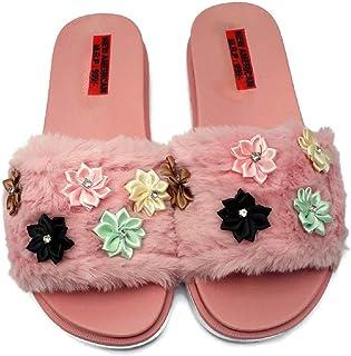 NEW AMERICAN Pink/Black/Grey Sliders for Girls/Women
