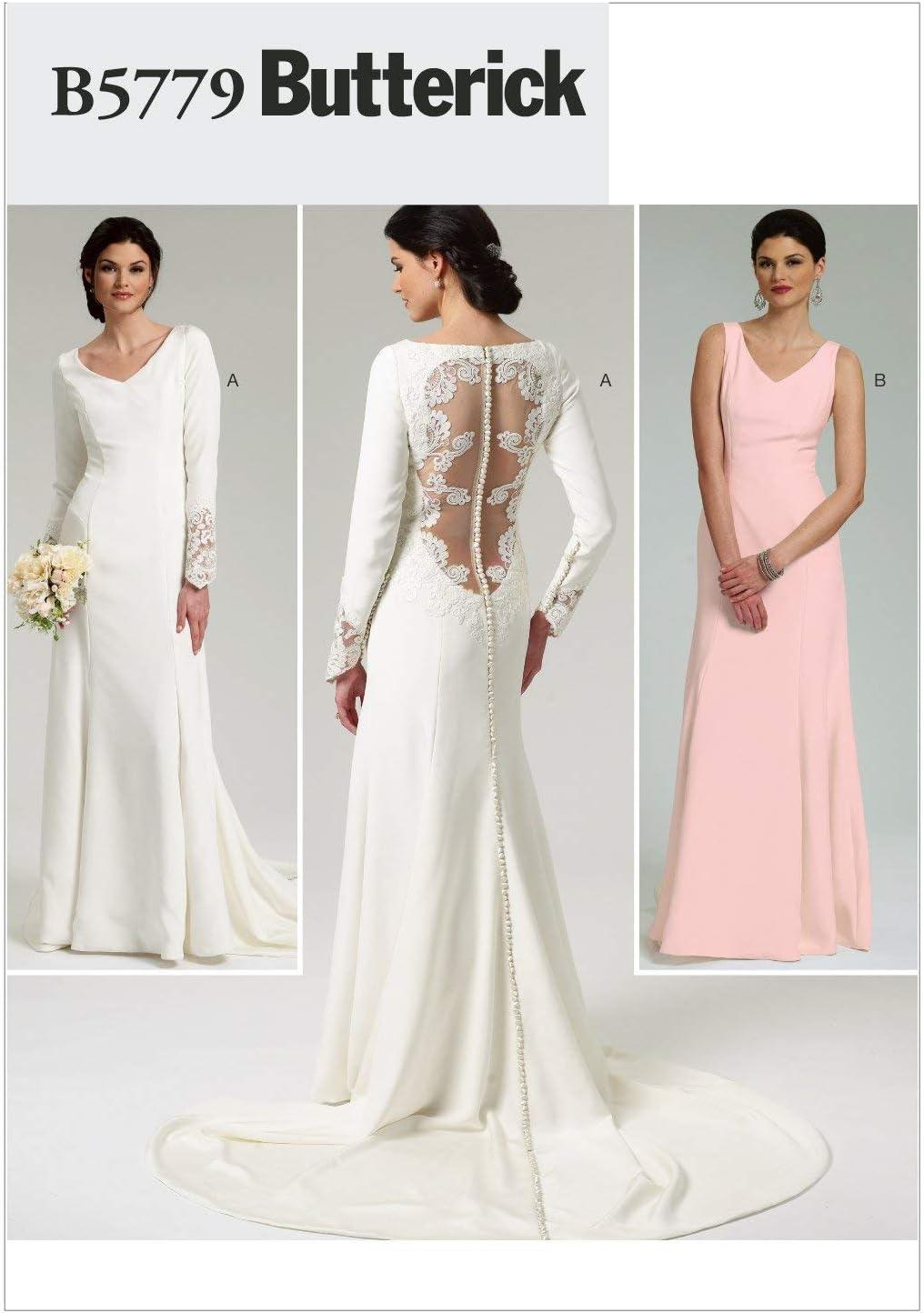 Atlanta Mall Butterick Patterns B5779AX5 Misses' Dress Size Pattern A Sewing Popular standard