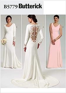 Patron de robe de mariee