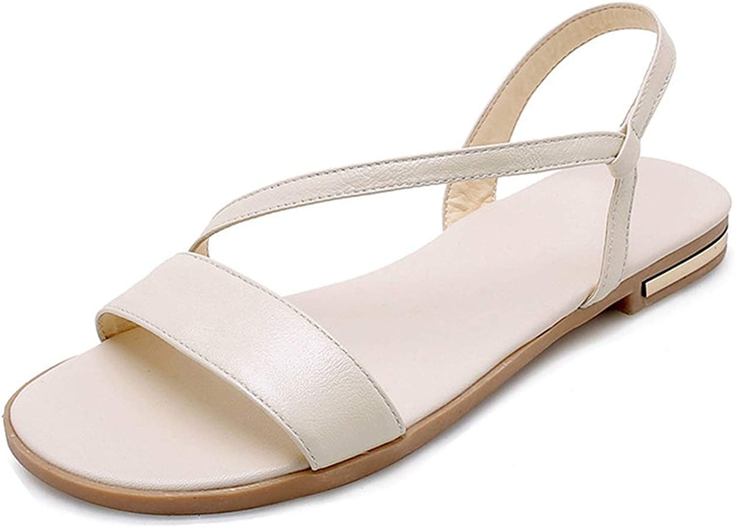 Women Sandals Slip on Summer shoes Woman Flat Beach shoes Female