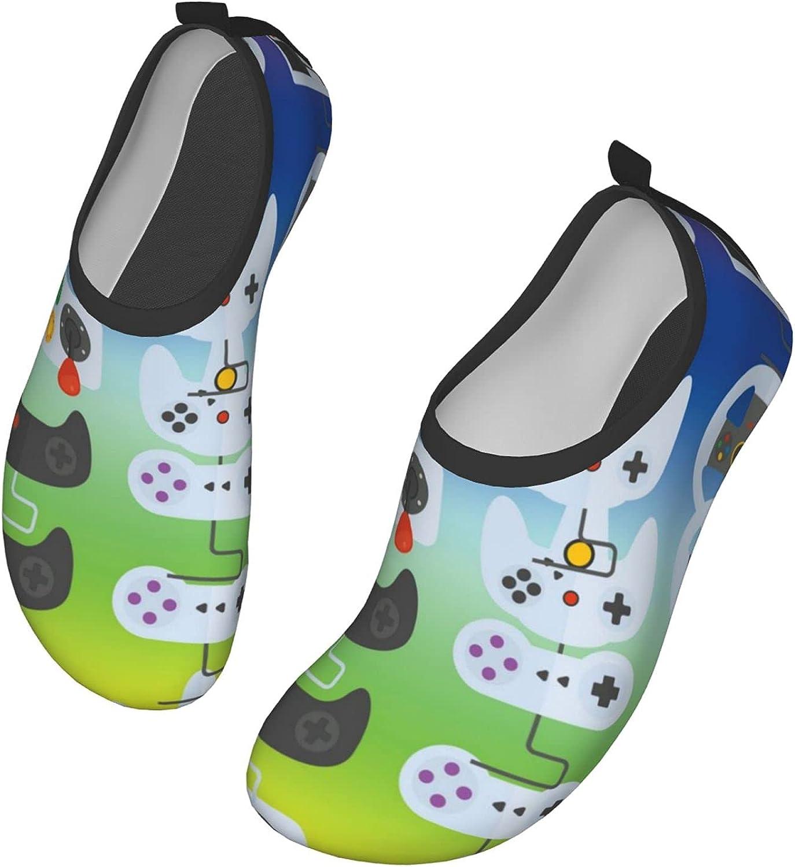 AMRANDOM Unisex Water Shoes Quick-Dry Aqua Socks Barefoot for Outdoor Beach Swim Surf