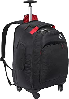 19INCH MVS SPINNER ROLLING BACKPACK OFFERS THE GRAB AND GO FUNCTION OF A WHEELED