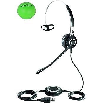 Jabra 2499-829-105 Biz 2400 USB Duo Premium Wideband Audio Nc Headset