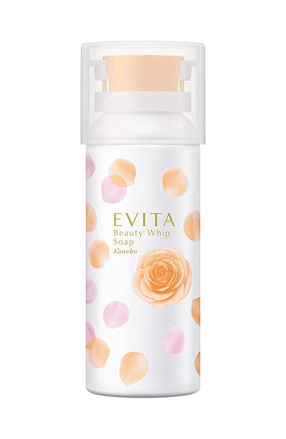 スプーン出くわす付添人エビータ ビューティホイップソープ(ローズ&オレンジティーの香り) 洗顔料