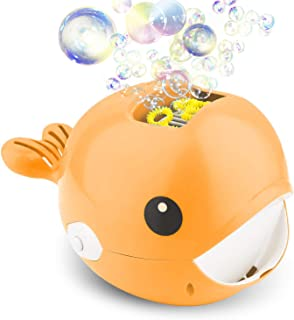 Semaco Bubble Machine, Automatic Whale Bubble Blower, Durable and Portable Automatic Bubble, Maker Over 2000 Bubbles Per Minute Bubble Blower Toy, Easy to Use for Parties Wedding Baby Showers Indoor/