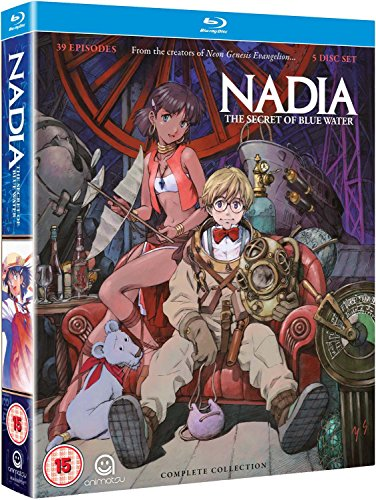 Nadia: Secret of The Blue Water-Complete Series Collection Blu-Ray [Edizione: Regno Unito] [Import]