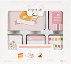 Project Life Core Kit Core Edition-Baby Girl (616 Piece)