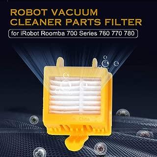 Lixada Robot Vacuum Cleaner Parts Hepa Filter Replacement for iRobot Roomba 700 Series 760 770 780 Accessories