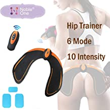 Wireless Remote Control Hip Muscle Buttock Trainer, Plump Hip Massage Instrument Hip Enhancement Elastic Firming Hip Joint Hip Tightening Extended Body Massager, Helps to Lift Shape and Firm The Butt