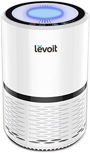 LEVOIT Air Purifier for Home, H13 True HEPA Filter for Allergies and Pets, Dust, Mold, and Pollen, Smoke and Odor Eli...