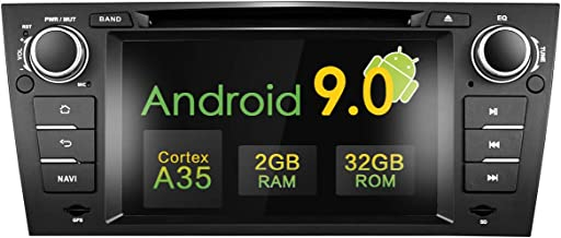 Amaseaudio Upgrade Android 9.0 32GB ROM 7 Inch TFT LCD 1-Din Online Navigating Car Stereo Auto Radio Mirrorlink WiFi GPS for BMW 3 Series E90 E91 E92 E93