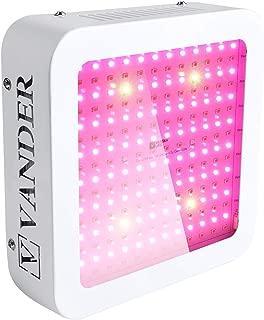 LED Grow Light 600W Growing Lamp - Vander Life HFS006 Full Spectrum UV IR Plant Light for Hydroponic Indoor Plants Veg and Flower, 2 Years Warranty