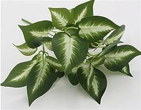 5 stks kunstplanten plastic gras kunstmatige schildpad bladeren muur groene plant accessoires bruiloft decoratie ingemaakt...