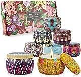 Set di candele profumate Regali per donne Candele per aromaterapia 8 confezioni 35,2 once ...